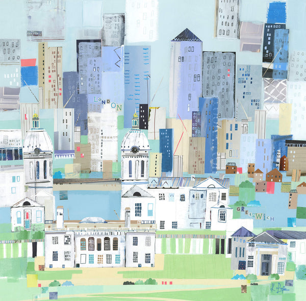 London Greenwich Art Print