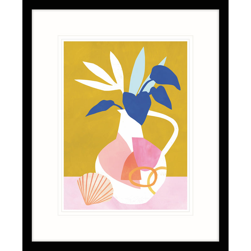 The Shell and Vase Framed Print