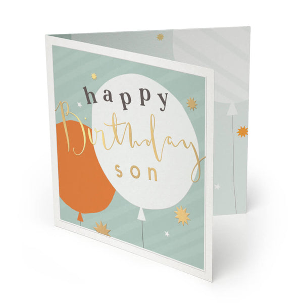 Son Luxury Birthday Card
