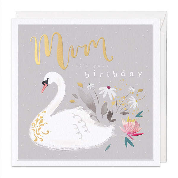 Mum Luxury Birthday Card