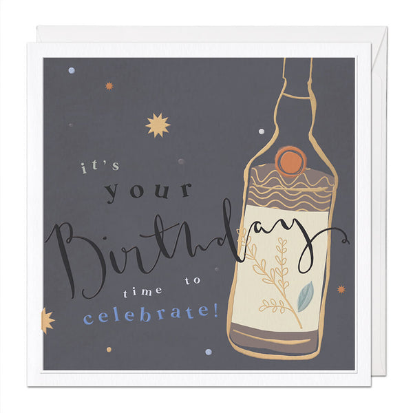 Time To Celebrate Luxury Birthday Card