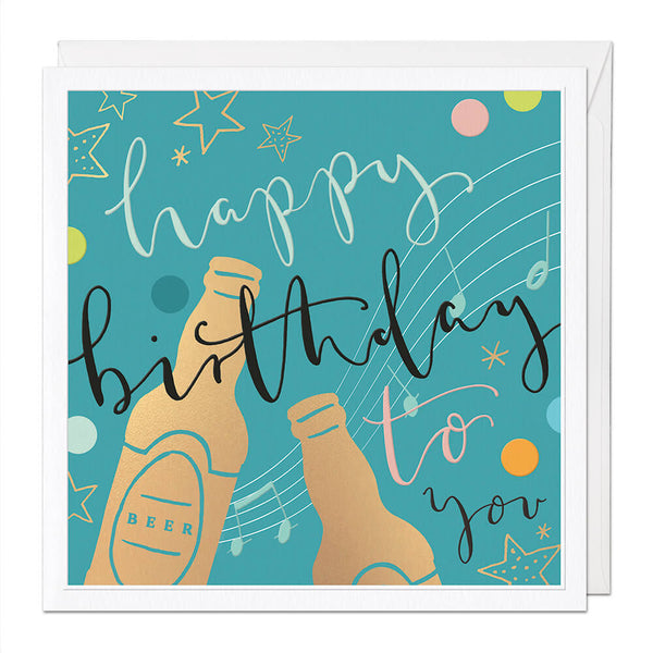 Happy Birthday To You Luxury Birthday Card