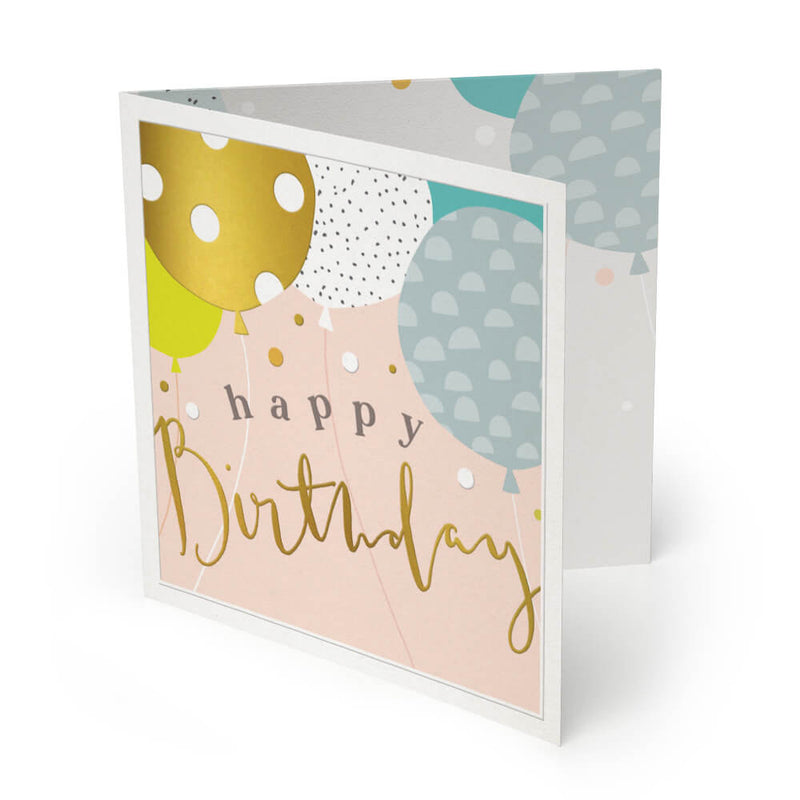 Birthday Balloons Luxury Birthday Card