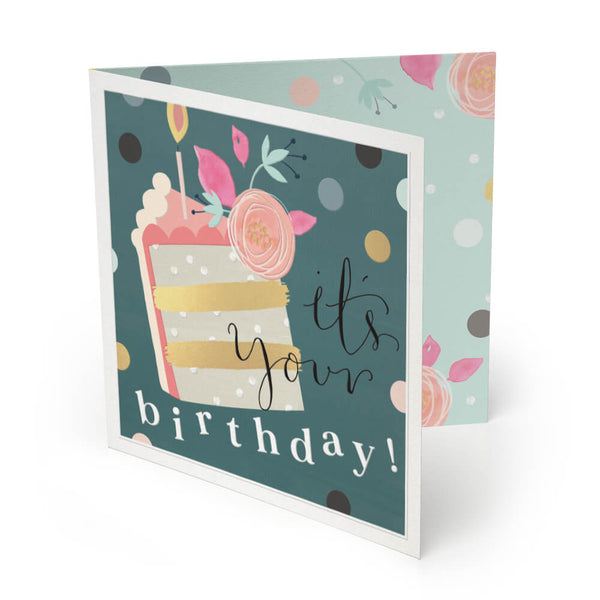 It's Your Birthday Luxury Birthday Card