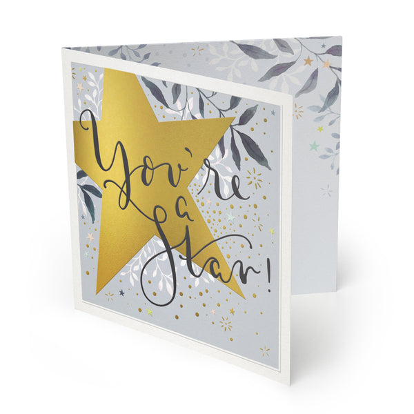 You're A Star Luxury Card