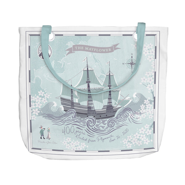 Mayflower's Story Tote Bag