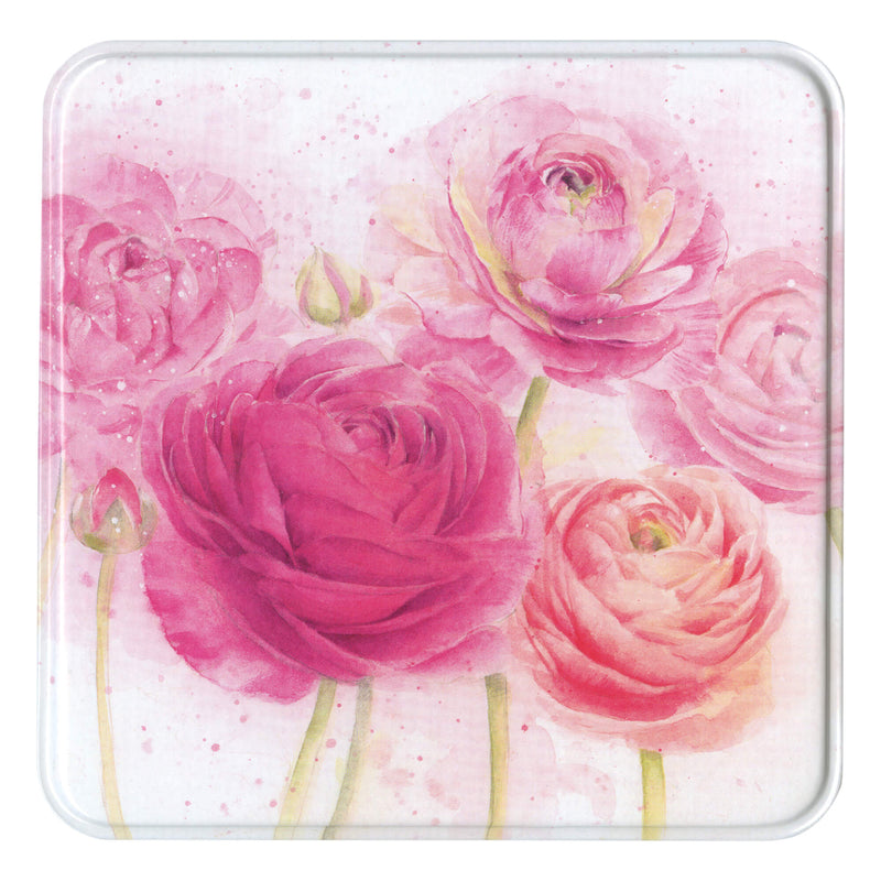 Ranunculus Notelet Tin
