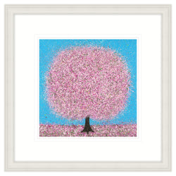 Sunshine Tree Framed Print