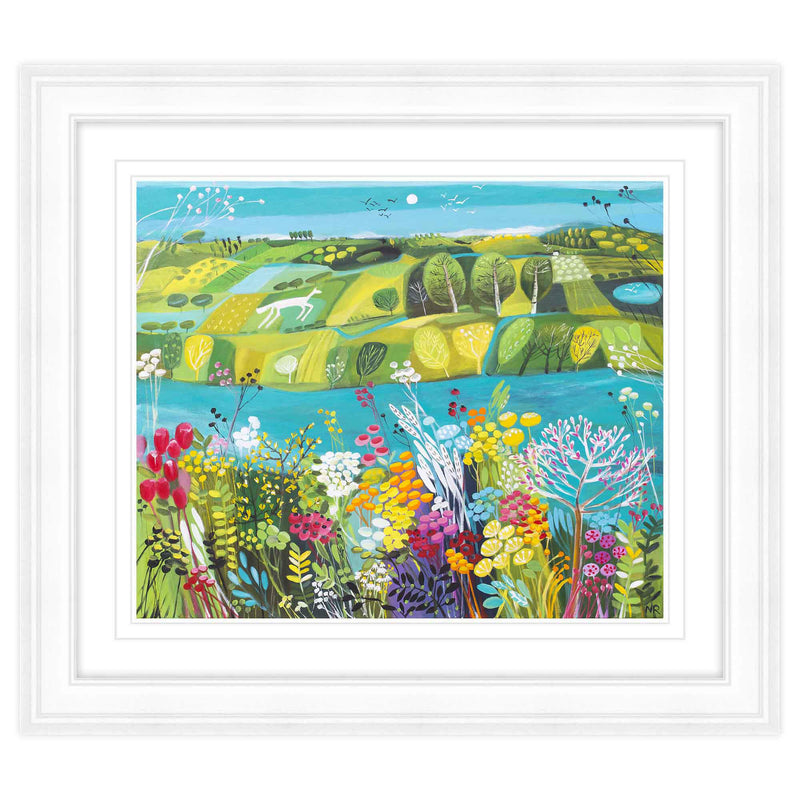 The Riverbank Framed Print