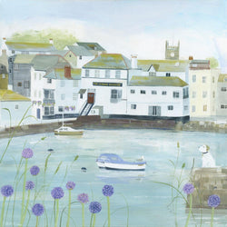 Falmouth Flowers Small Art Print