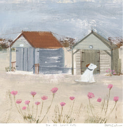 The Old Beach Huts 1 Print