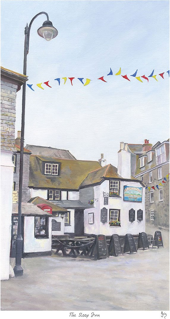 The Sloop Inn Print