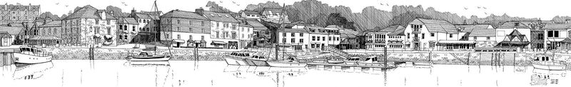 Padstow Harbour Print
