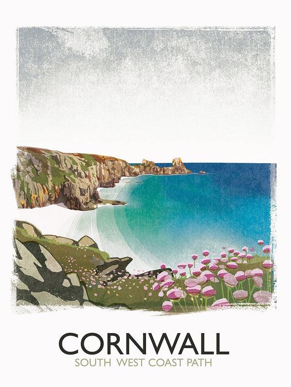Cornwall Path Print