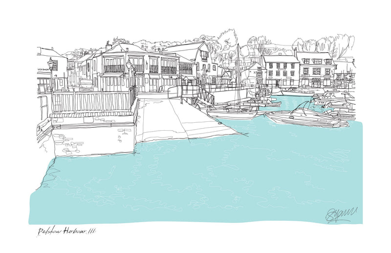 Padstow Harbour 3 Print