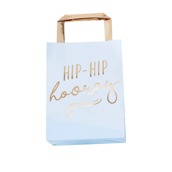 Hip Hip Hooray Blue Party Bags