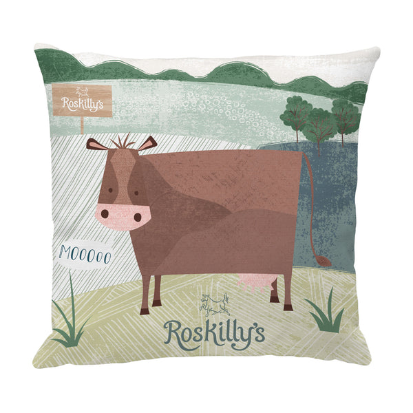 Roskilly's Cow Cushion