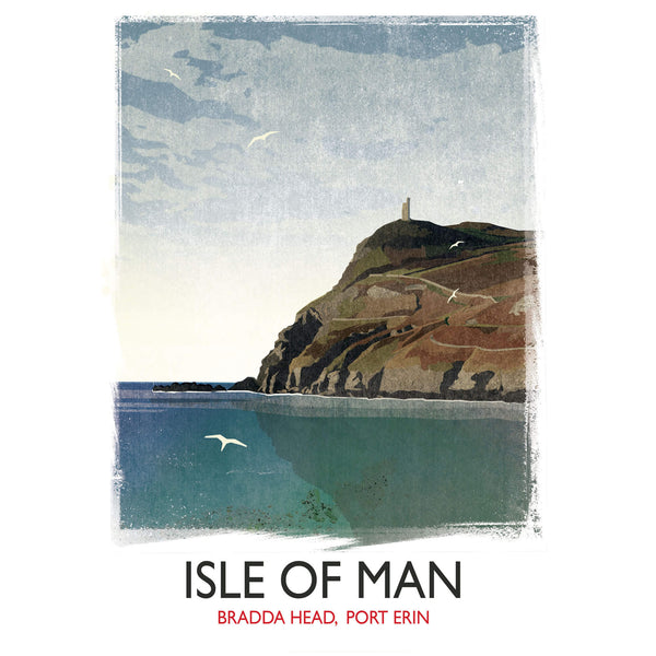 Isle of Man Travel Art Print