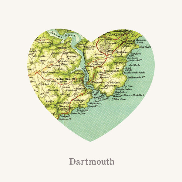 I Love Dartmouth Art Print