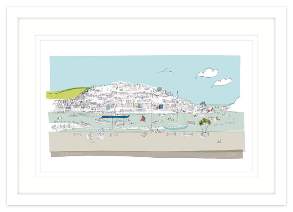 Dartmouth Small Framed Print