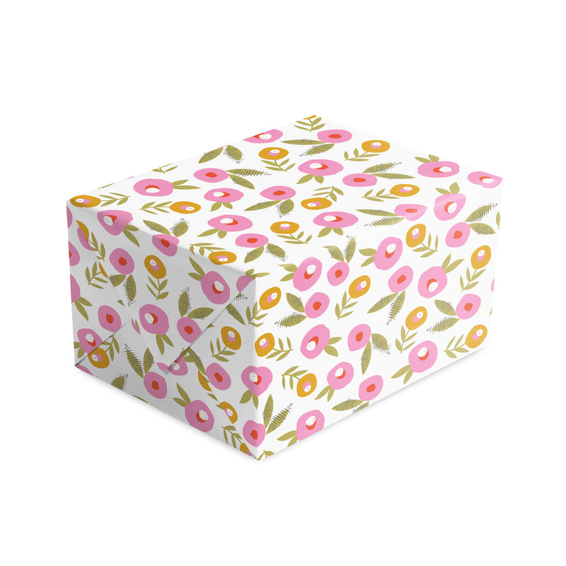 Blossom Dot Wrapping Paper