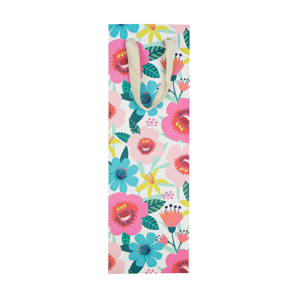 Flower Pop Gift Bottle Bag