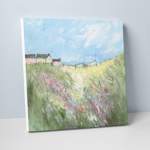 Ice Cream Cottages Canvas