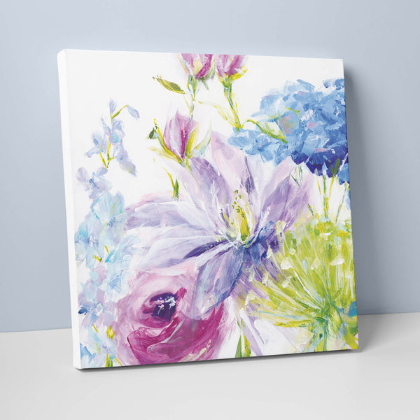 Gathered Garden Canvas