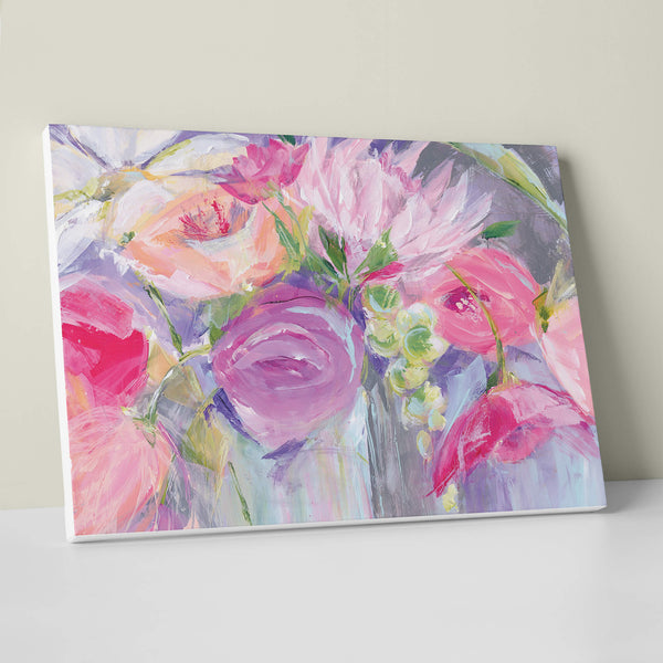 Fresh Flowers Canvas