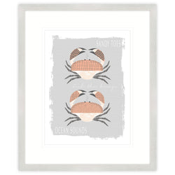 Sea Life Crab Framed Print