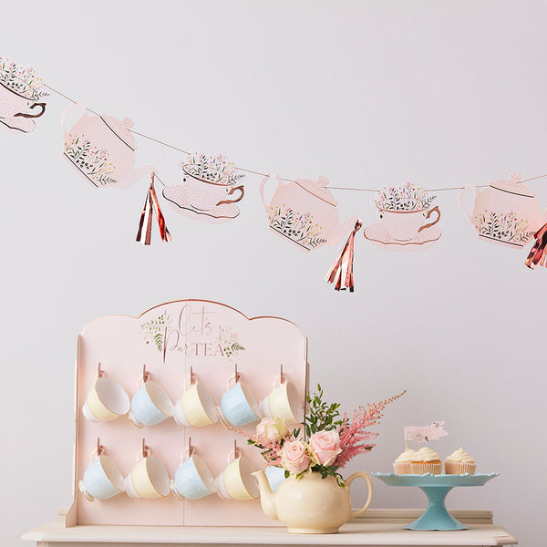 Cup And Saucer Tea Party Bunting