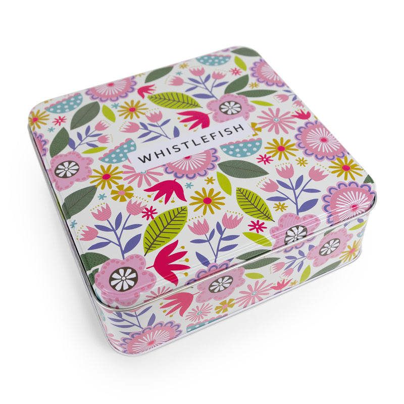 Bright Blooms Everyday Tin