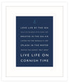 Cornish Time Framed Print