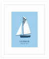 Falmouth Working Boats Framed Print