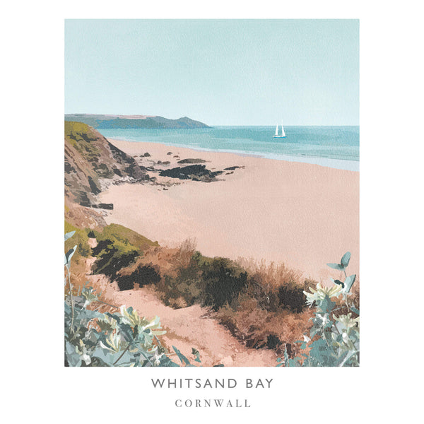 Whitsands Art Print