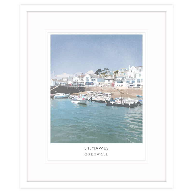 St Mawes Framed Print Small