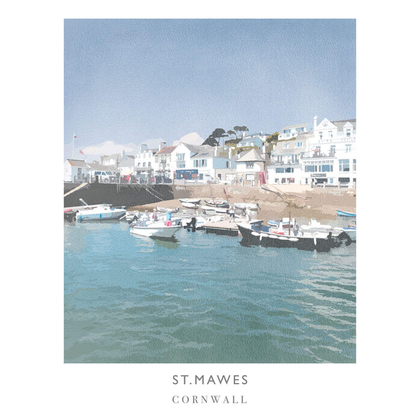 St Mawes Art Print Small