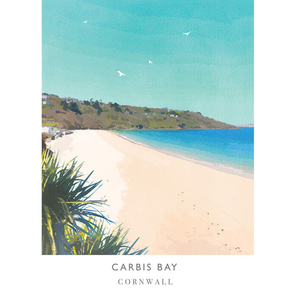 Carbis Bay Art Print