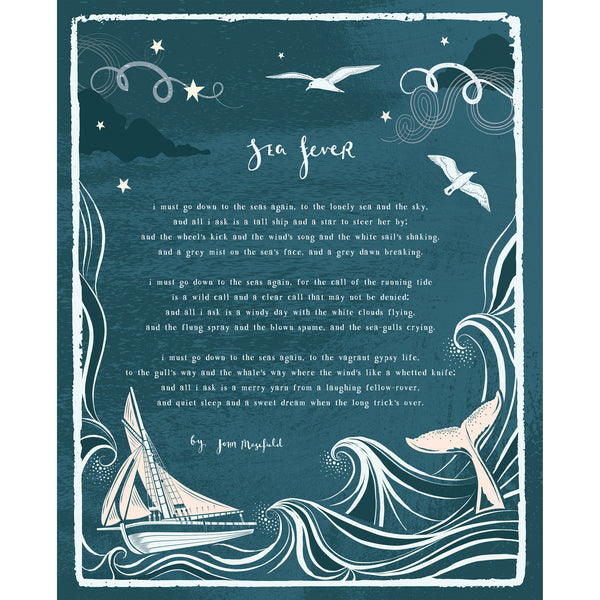 Sea Fever Art Print