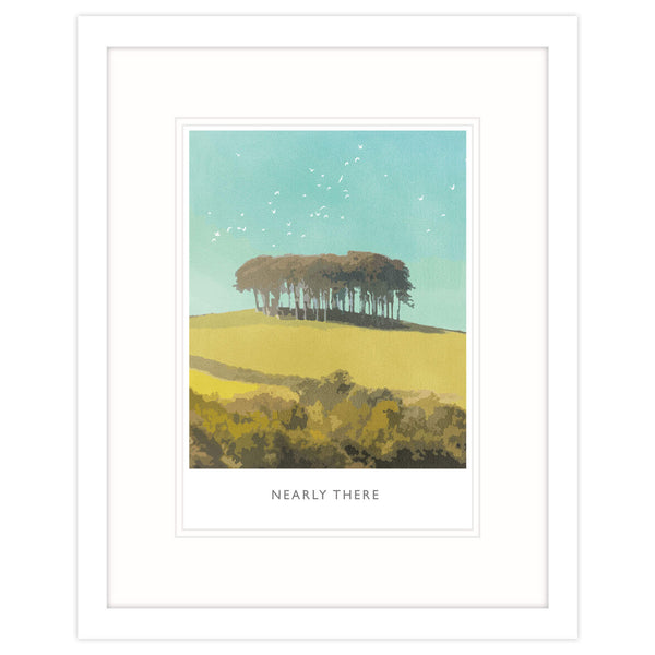 Nearly There Framed Print