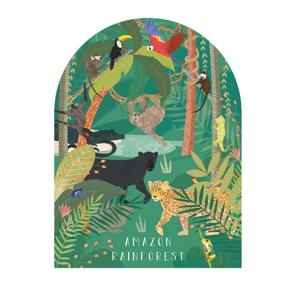 Amazon Rainforest Art Print