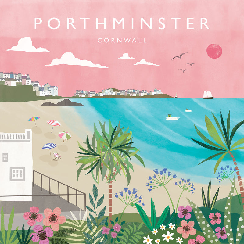 Porthminster Small Art Print