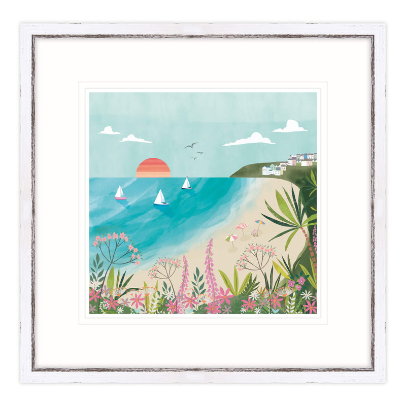 Carbis Bay Framed Print