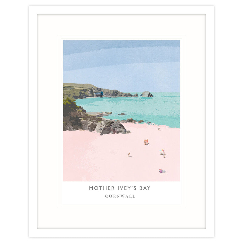 Mother Iveys Bay Framed Print