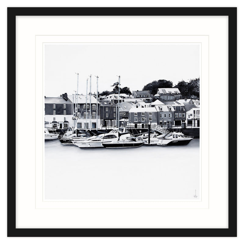 Padstow 1 Framed (Black)