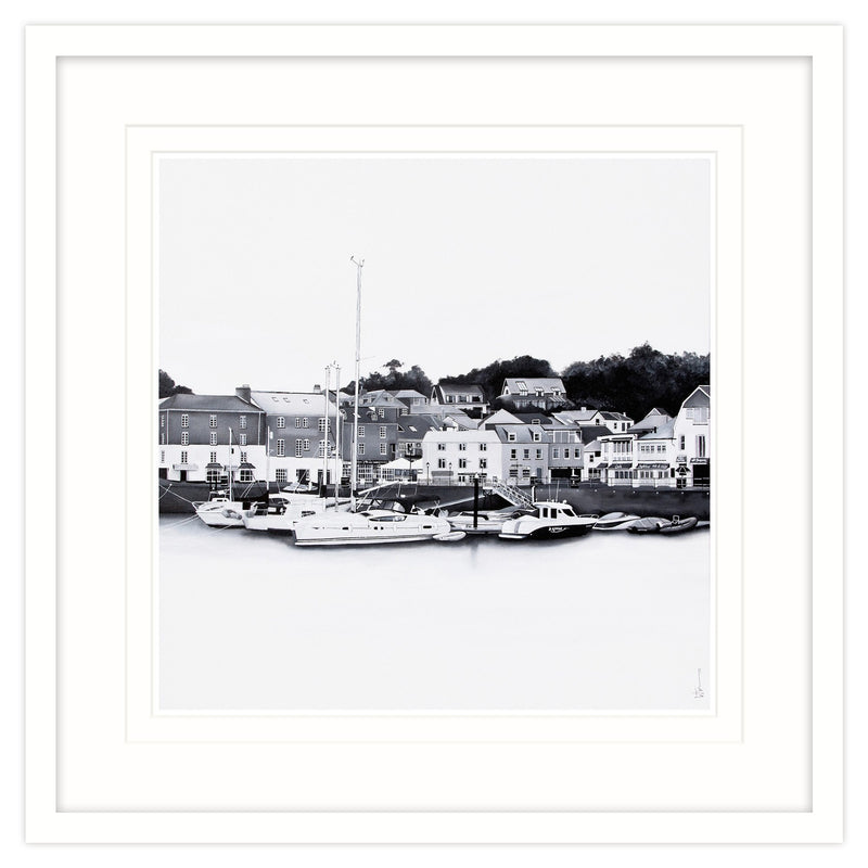 Padstow 1 Framed (White)