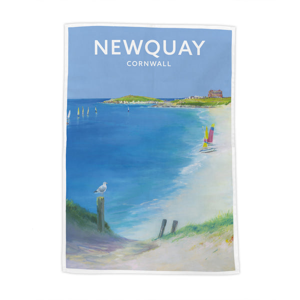 Newquay Tea Towel