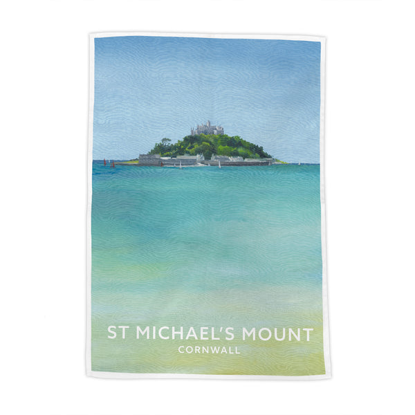 St Michaels Mount Tea Towel