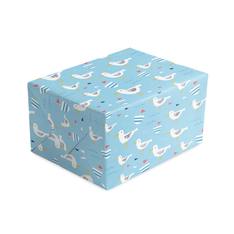 Seagull Wrapping Paper & Tags