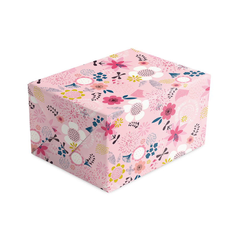 Cherry Floral Wrapping Paper